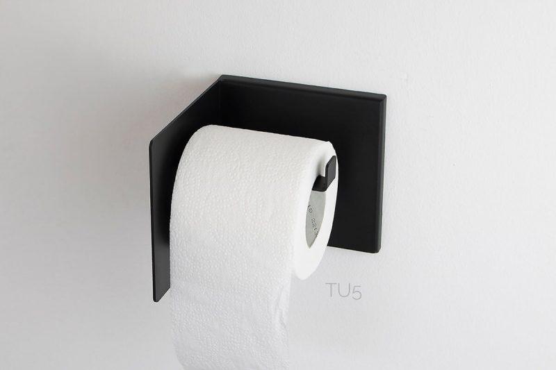czarny uchwyt na papier TU5