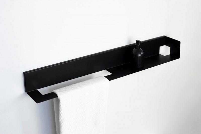 półka wieszakiem na ręcznik TU2 IMOdesign