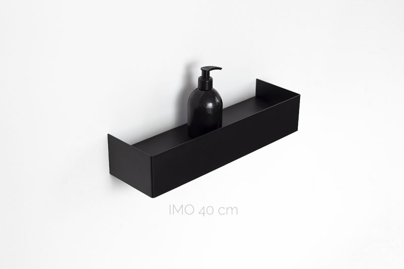 czarna półka IMO 40 cm IMOdesign