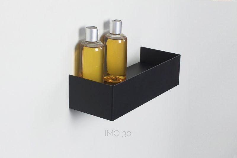 czarna półka IMO 30 cm IMOdesign