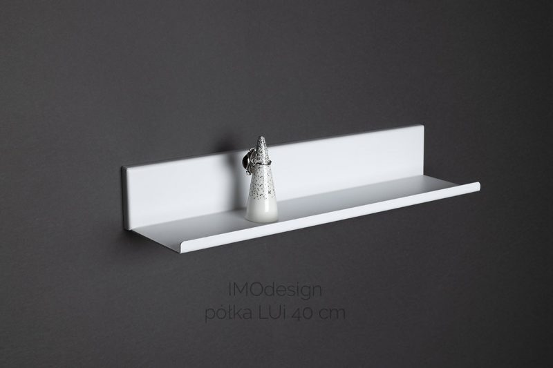 półka LUI 40 cm biała IMOdesign