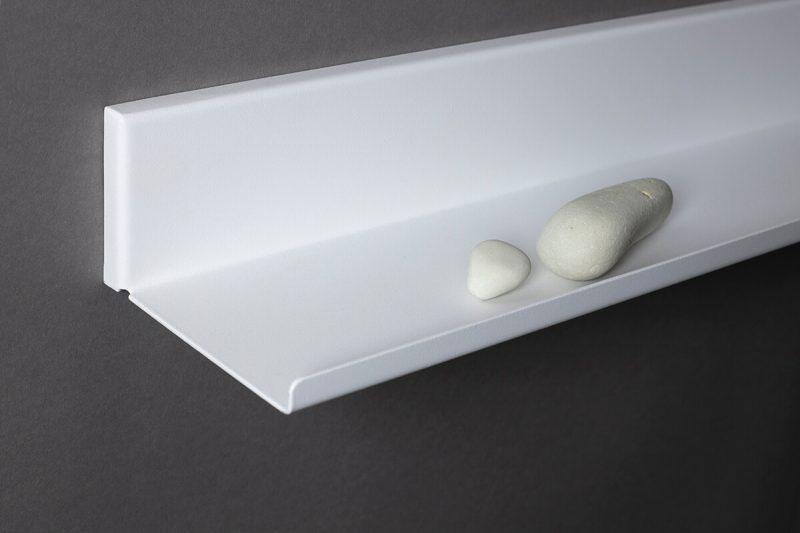 białe półki ral 9003 droban struktura LUi