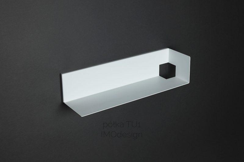 biała półka TU1 IMOdesign
