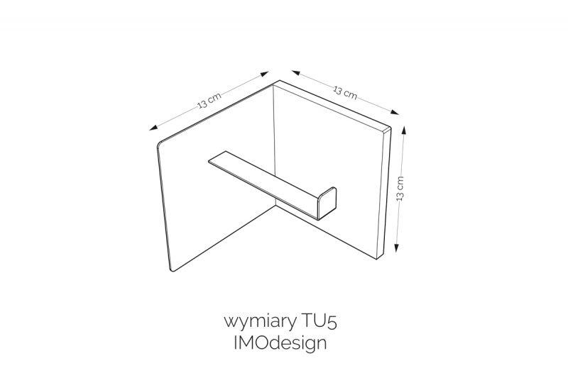 wymiary uchwytu na papier TU5