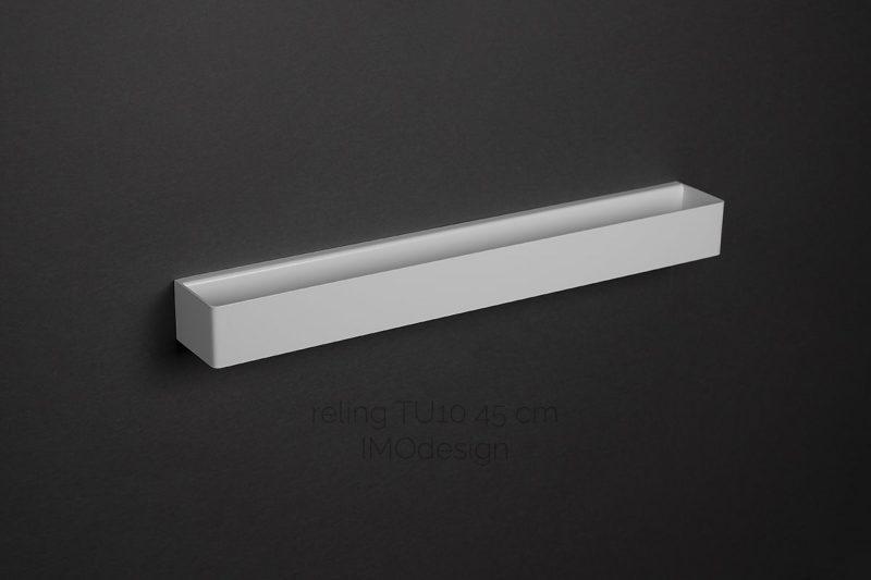 biały reling TU10 45 cm
