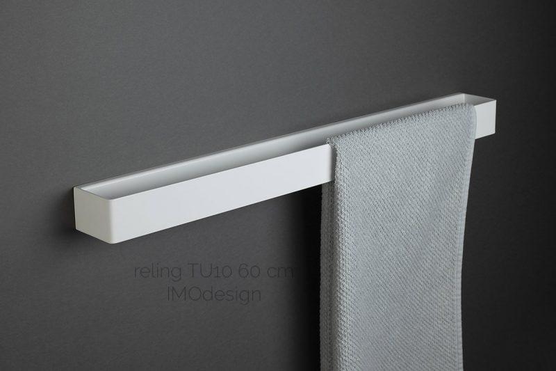 biały reling TU10 60 cm