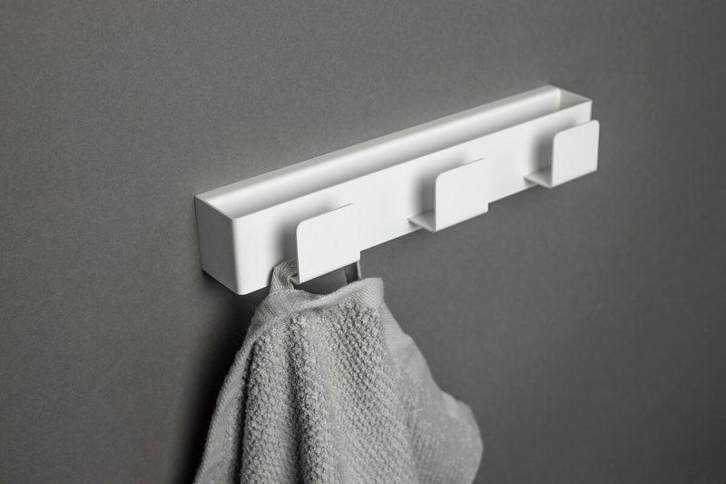 biały wieszak na ręczniki TU11 IMOdesign