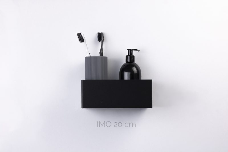 półka IMO 20 cm czarna IMOdesign