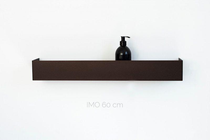 półka IMO 60 cm metalowy brąz